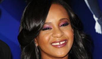 whitney houston's daughter taken to hospital