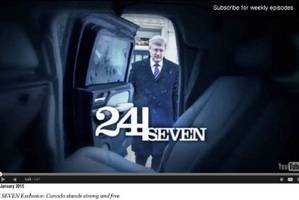 Stephen Harper's new video Exhibit A of violent insecurity: Mallick